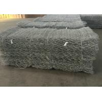 Best Hot Dipped Galvanized Gabion Wire Mesh / Stone Cage Wire Mesh Customized wholesale