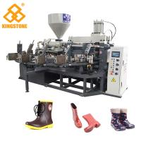 Best PVC Short Gum boots Injection Machine , Automatic Safety Shoe Making Machine  wholesale