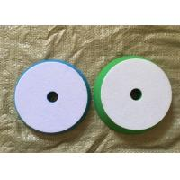 Cheap 180mm Hook Loop Polishing Pad , Sheepskin Buffing Pads For Glass Products for sale