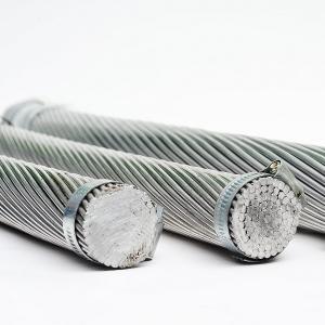 Best 37 / 61 Multi Conductor Wire All Aluminium Conductor , Anti Extrusion Bare Ground Wire wholesale