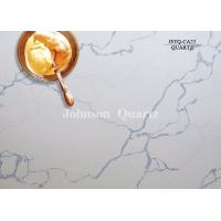Best 3m Length 2cm / 3cm Thickness Quartz Stone Countertops Smoothness Compact Structure wholesale