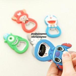 Best Custom silicone bottle opener Cute Animal wholesale