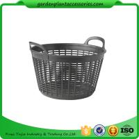 """Best Flexible Small Outdoor Basket Planter 9-1/2"""" in diameter x 8"""" H overall wholesale"""