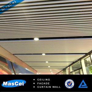 Cheap Aluminum Strip Ceiling/Baffle Ceiling/u Shape Ceiling/Linear ceiling for sale