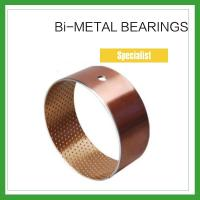 Best High Load Cylindrical Bimetal Bushing Inner Sintered layer for Agricultural Machinery wholesale