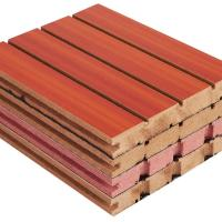 China Fireproof Veneer Sound Absorbing Boards For Walls And Ceilings 2440mm * 133 mm on sale