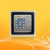 Best Smart Home Access Control Card Reader With Password , Metal Material Case wholesale