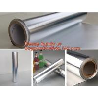 Best Factory direct selling costom household food grade aluminium foil roll,thermal insulation foil bbq paper roll bagease wholesale