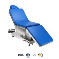 Best 304 Stainless Steel Electric Operating Table For Eye Surgery Foot Pedal Switch With Sliding wholesale