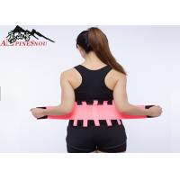 Best Curves Trimming Waist Support Brace Breathable Neoprene For Men / Woman wholesale