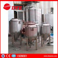 Best Durable Beer Brewing Equipment Conical Fermenter 50mm 80mm 100mm Thickness wholesale