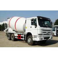 Best 371HP Engine Concrete Mixer Vehicle , SINOTRUK HOWO 6x4 Concrete Cement Truck wholesale