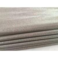 Best 100%silver fiber knit anti electromagnetic radiation fabric for maternity dress wholesale