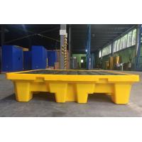 Cheap Oil Tank Storage HDPE Spill Containment Pallets For 220L 4 Drums Stoarge for sale