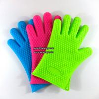 Best Durable kitchen five fingers silicone glove LOW MOQ and cheap price wholesale