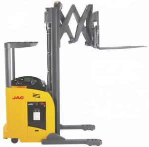 Best 1.8 Ton Reach Truck Forklift Forward Double Scissor 36V Electric Control High Efficiency wholesale