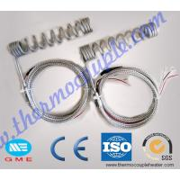 Buy cheap 4.0 x2.0mm  Hot Runner Coil Heaters With K Type Thermocouple from wholesalers