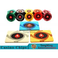 Best 3.3mm Thickness 12 - 32g Casino Poker Chips / Customized Ceramic Chip Can be custom wholesale