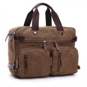 China Dual Use Fashion backpack Notebook Computer Bag Messenger Shoulder Bag Men Women Briefcase Business laptop Bag on sale