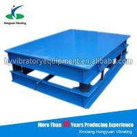 Best Vibration table for concrete moulds / electronic vibration platform wholesale