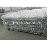 Best 2.0 - 4.0mm Hexagonal Wire Netting Gabion Mesh Wire 2 x 1 x 1 For Protection wholesale