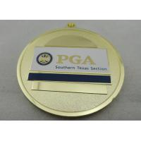Best PGA Southern Texas Section Iron / Brass / Copper Medal with Synthetic Enamel, Zinc alloy Die Casting wholesale