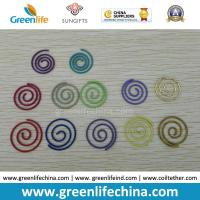 Best Colorful Round Spiral Shape Fashionable Paper Clips Round Cord and Flat Cord Both Available wholesale