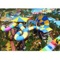 Best Outdoor Tornado Water Slide , Adult Thrilling Hurricane Water Slide wholesale