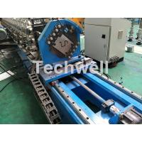 Best 16 Stations Cold Roll Forming Machine With Rubber Belt Driven Servo Tracking Cutting Device wholesale