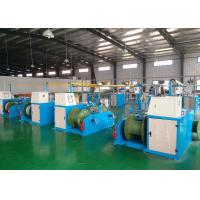 Best Industrial Cable Production Equipment , Wire Extrusion Line 26x3.4x2.8m Size wholesale