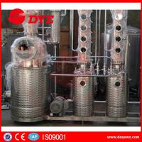 Best Red Copper Still Kits Copper Distillery Equipment 1-3 Layers SUS304 wholesale