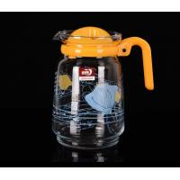 Best Personalized Glass Water Kettle Glass Teapot And Cup Set Multi Purpose 1550 ML wholesale