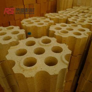 Best Al2o3 55 % Fire Clay Checker High Temperature Brick Customsized Color wholesale