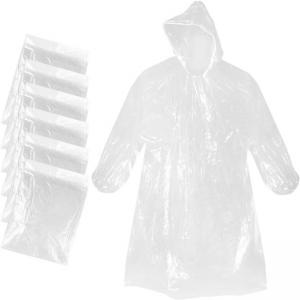 Best 0.014mm Thick Adult Emergency Waterproof Rain Poncho With Hood wholesale