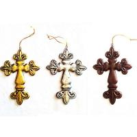 Best Metal hanging cross Christmas tree ornaments wholesale