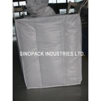 Best 2200 Lbs Baffle Bag Industrial Big Bags FIBC Bulk Bag For Cement / Chemical Packaging wholesale