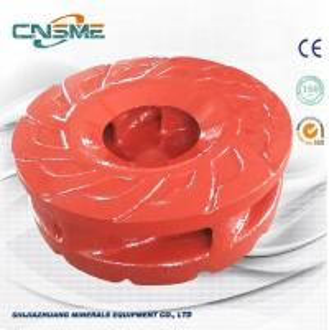 Best Higher Pressure Slurry Pump Spare Parts 6 Vane Impeller For Centrifugal Slurry Pump wholesale