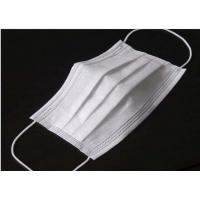Best Odourless Lint Free Disposable Medical Mask , Disposable Medical Mouth Cover wholesale