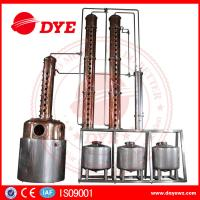 Best Red Copper Alcohol Distiller Machine Electric Hearting Or Steam Hearting wholesale