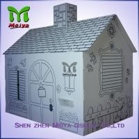 Best Customized Printing Cardboard Kids Toys Cat , Dog house / playhouse wholesale