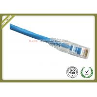 Best CAT6 UTP COMMSCOPE Network Patch Cord RJ45 Plug With Blue Jacket Custom Length wholesale