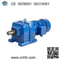 Quality Foot mounted similar to SEW R series inline helical gear motor speed reducer wholesale
