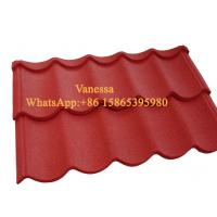 Best Terracotta Roof Tiles Wind Resistance Tile size 1300*420mm  2.6kg per sheets wholesale