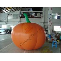 Inflatable Vegetable Shaped Balloons , Air Tight 2.5m Inflatable Pumpkin