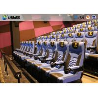 Best Arc Screen 4D Cinema Equipment Simulator Motion Chairs Customized Color SGS wholesale