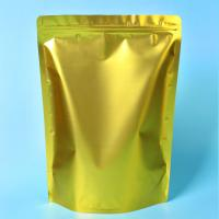 Best Custom Gold Coffee Bean Packaging , Stand Up Packaging Pouch Bag With Valve wholesale
