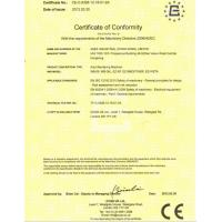 EZ RENDA CONSTRUCTION MACHINERY LTD Certifications