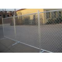 Best Removable Chain Link Fence Panels Safe And Flexible Protects Valuable Assets wholesale
