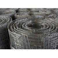 Knited Hinged Farm Mesh Fencing For Forestry / Cow , 2mm Dia Wire
