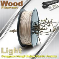 Best 0.8KG / roll 3D Printer 1.75mm Wood Filament Material Compatible With Makerbot / UP wholesale